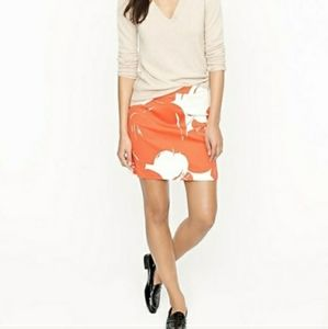 J. CREW Postage Stamp Mini in Big Apple Skirt 4